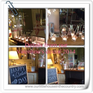 A brief glance of our Valentine's Decor 2014