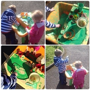 Messy Play Alert!