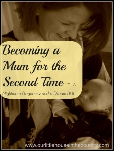 Becoming a mum for the second time