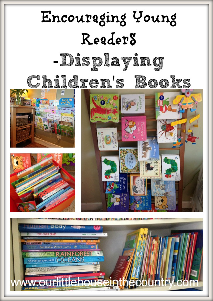 Displaying books