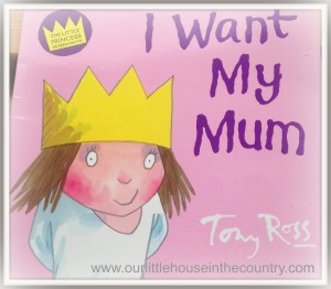 Oodles' Book of the Week - I Want My Mum by Tony Ross