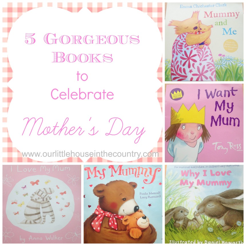 5 Gorgeous Books to Celebrate Mother's Day