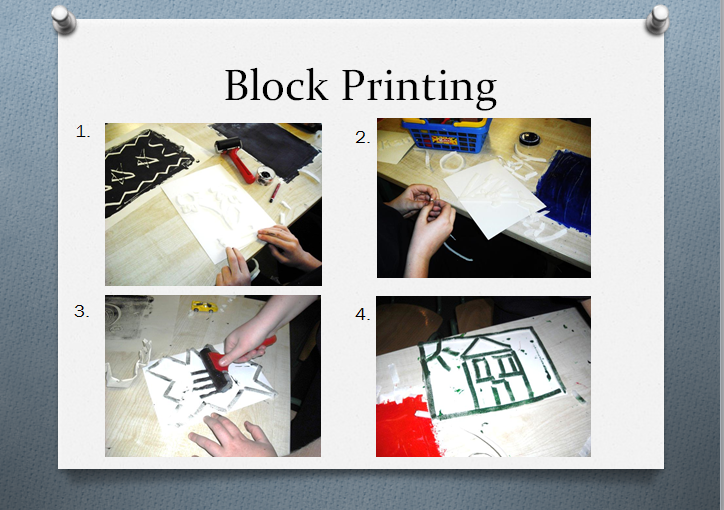 how to make a monoprint without a press