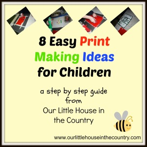 8 East Print Making Ideas for Children - a step by step guide