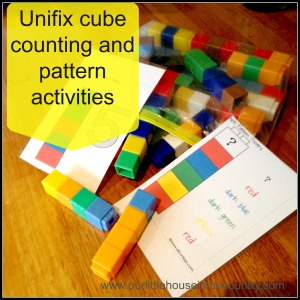 unifix cubes activities