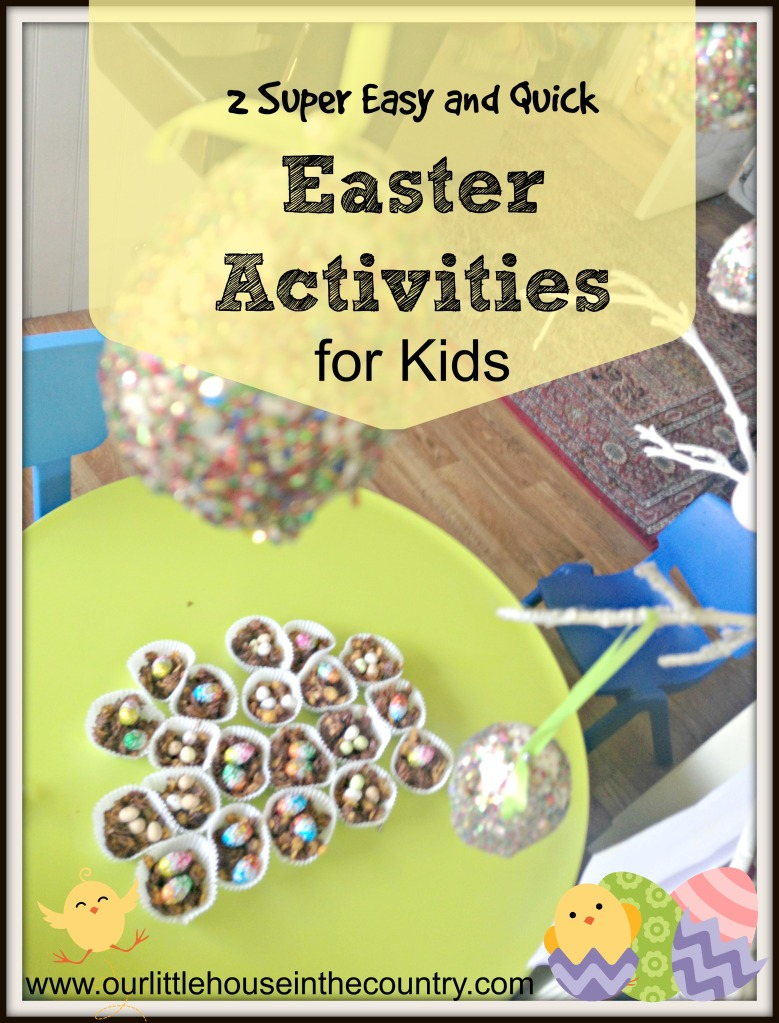2 quick and easy Easter activities