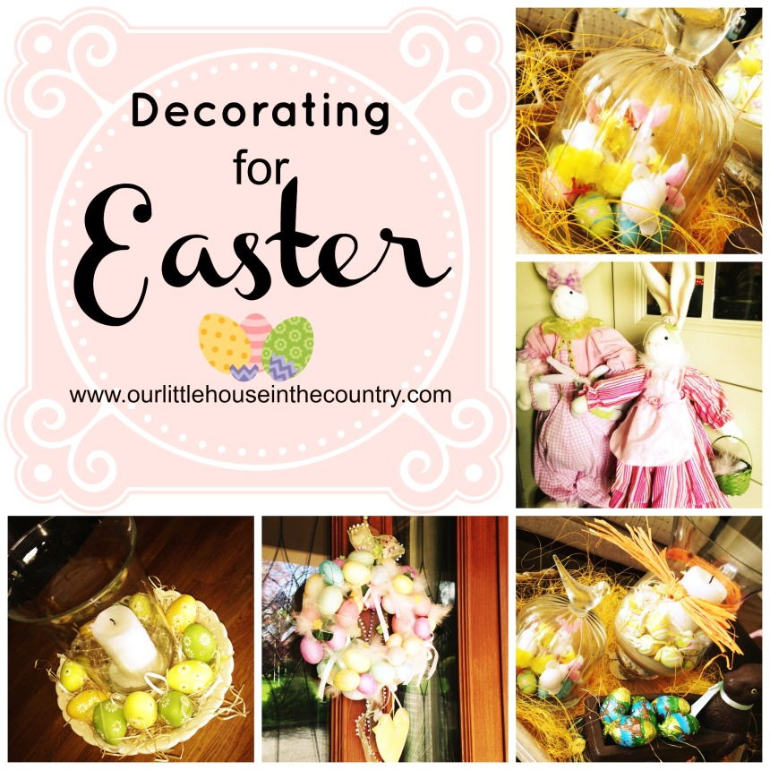 Decorating for Easter - Copy