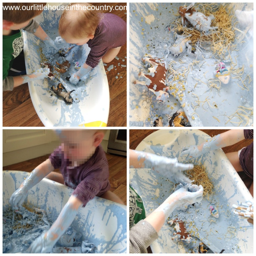 even more messy play