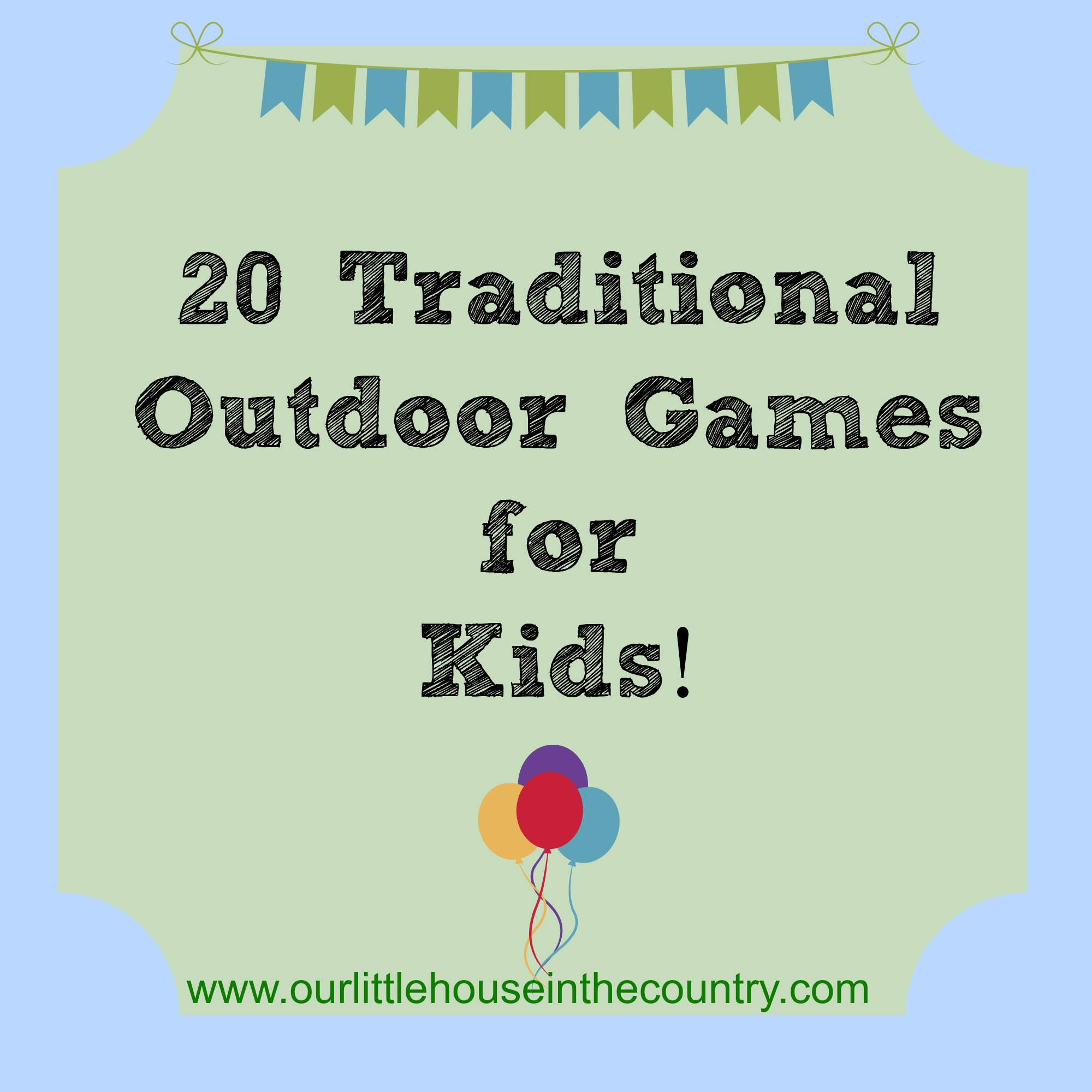 Family Games Play Outdoors