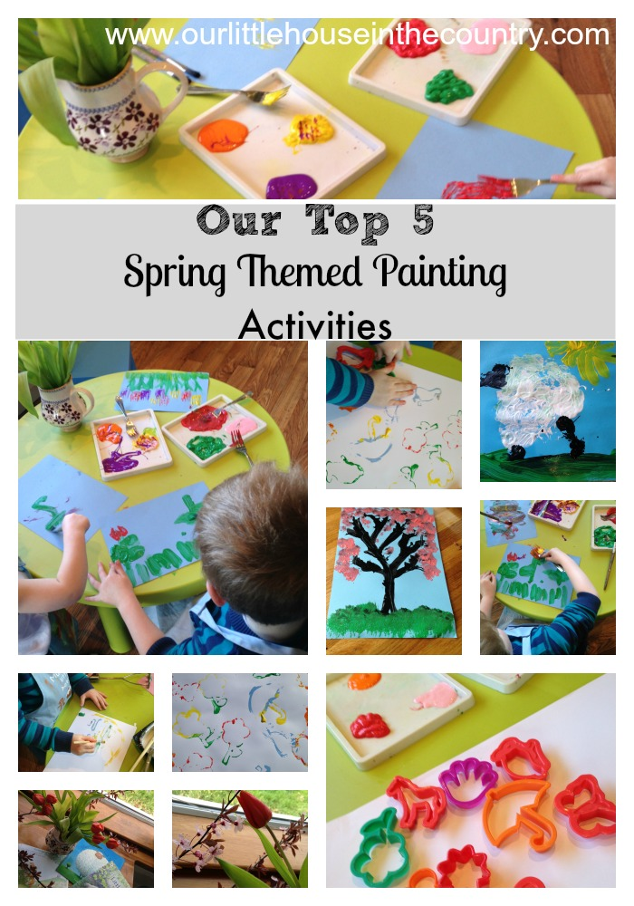 5 Spring Trends From London Fashion Week: Our Top 5 Spring Themed Paint Activities For Children