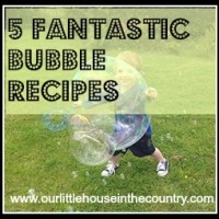 Bubbles Play - Our Top 5 Tried and Tested Recipes