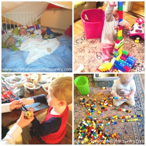 Construction Play Obsessed - Lego, Blocks, Cubes, Tent Building - you name it Doodles loves it! (and so does his little sister!)
