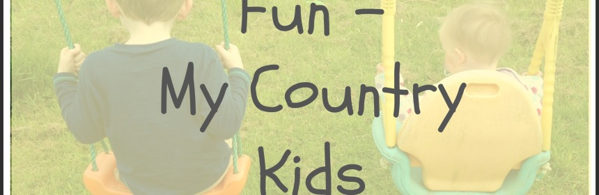 Simple Outdoor Fun and Games - My Country Kids at Play - www.ourlittlehouseinthecountry.co #outdoorplay #kidsactivities