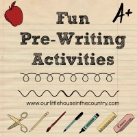 Fun Pre Writing Activities - Early Literacy & Fine Motor Skills Development