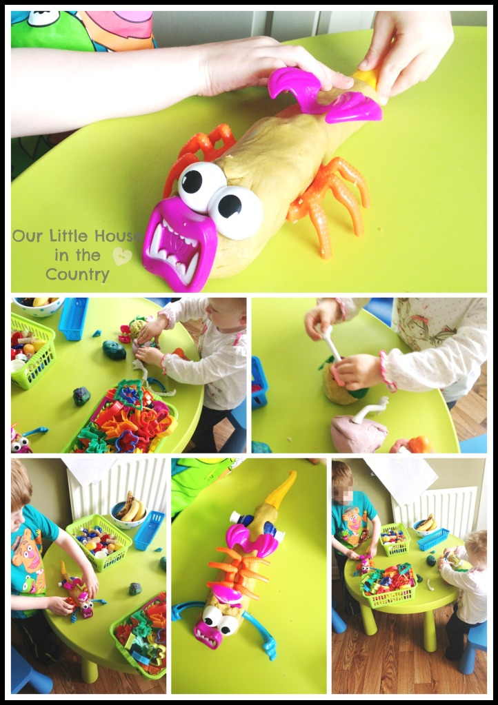 Playdough fun with our toolkit