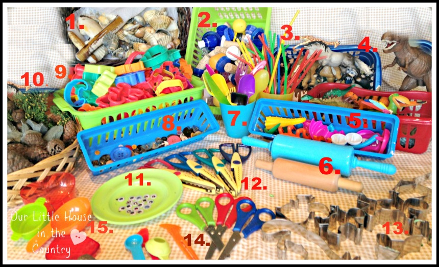 Playdough Tool Kit