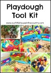 The Essential Play Dough Tool Kit - Everything you need for play dough fun #playdough #kidsactivities