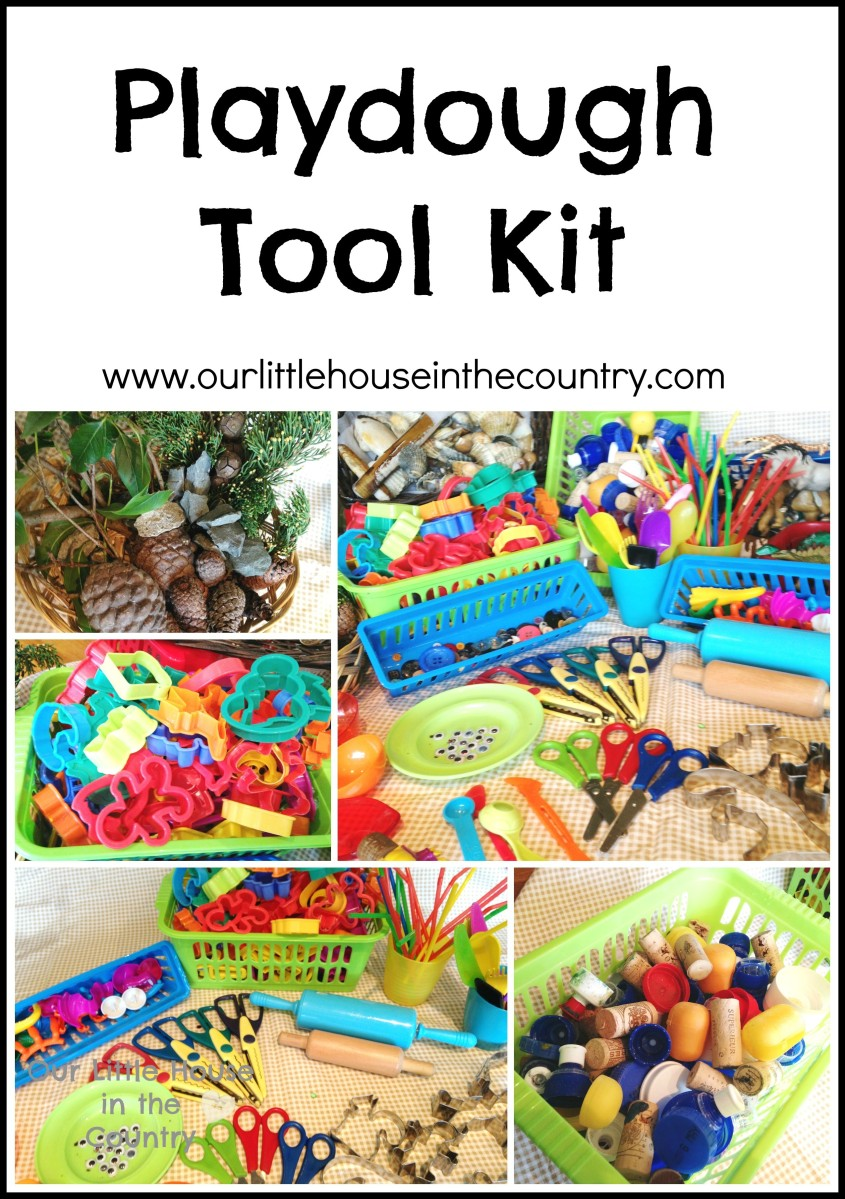 Play Dough Tool Kit - Everything You Need For Play Dough Fun!