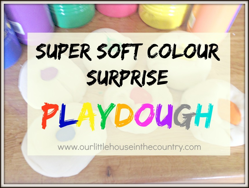 Super Soft Colour Surprise Playdough - Our Little House in the Country