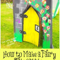 How to Make a Fairy Tale Castle - Outdoor Summer Fun for Kids!
