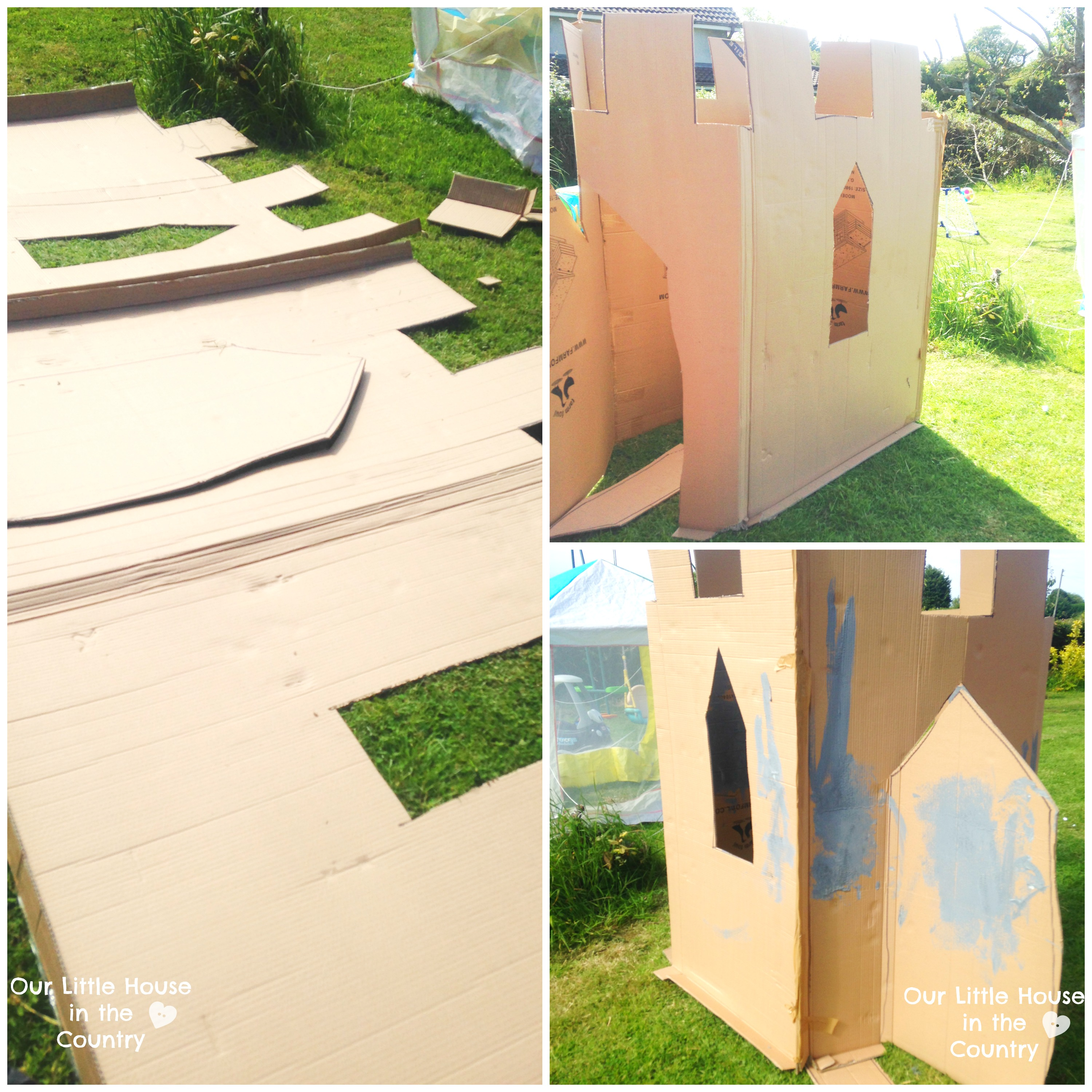 How To Make A Fairy Tale Castle Outdoor Summer Fun For