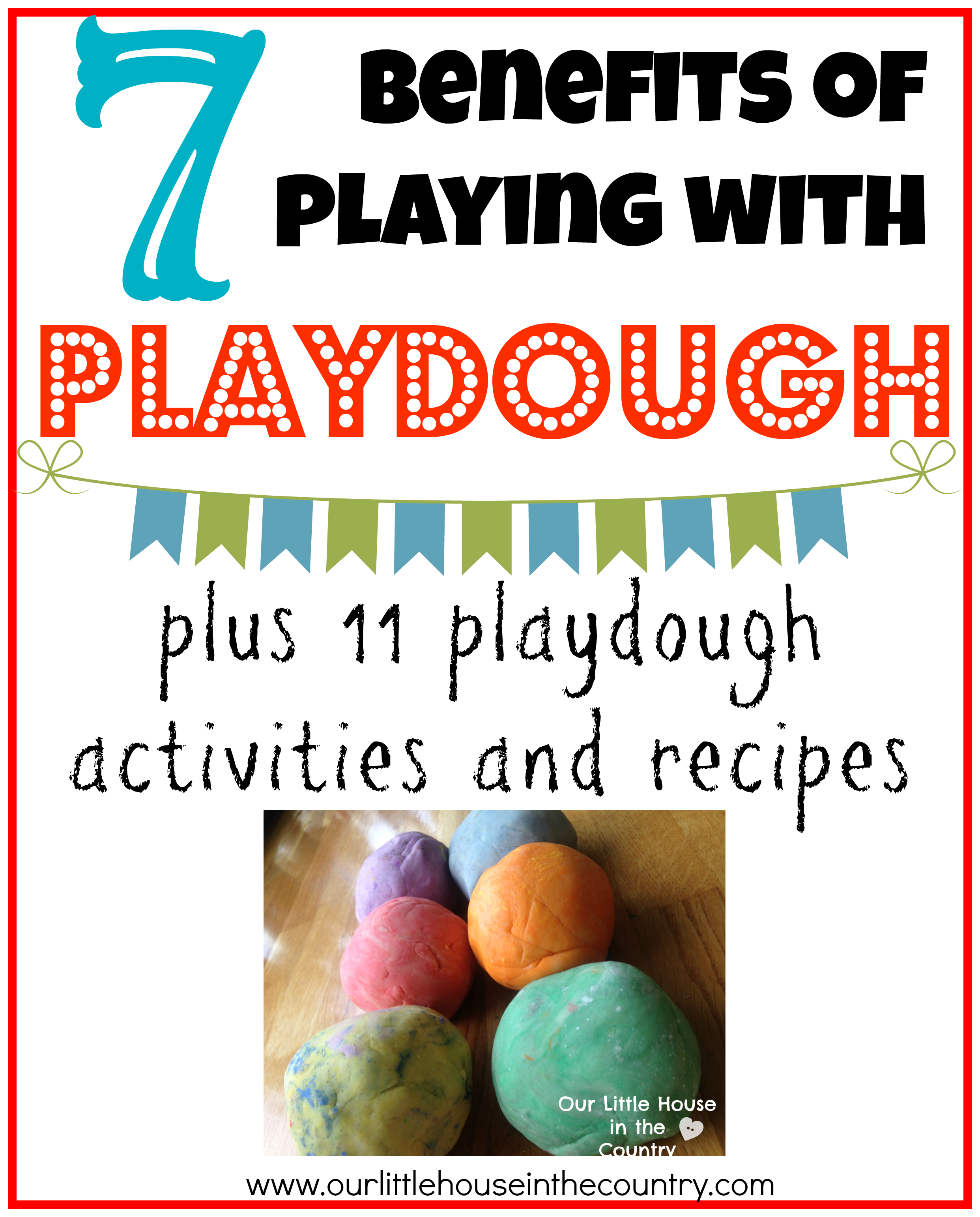 The Benefits Of Playing With Playdough Plus 11 Activities And Recipes