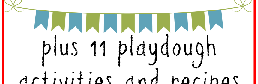 The Benefits of Playing with Playdough plus 11 Playdough Activities and Recipes - Our Little House in the Country #playdough #sensoryplay #kidsactivities