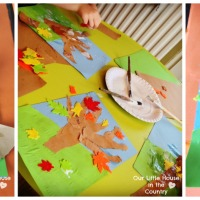 Autumn Tree Collages - Fall Art Activities for Kids
