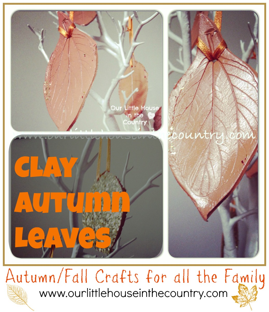Clay Autumn Leaves Fall Crafts For Kids Our Little House In The
