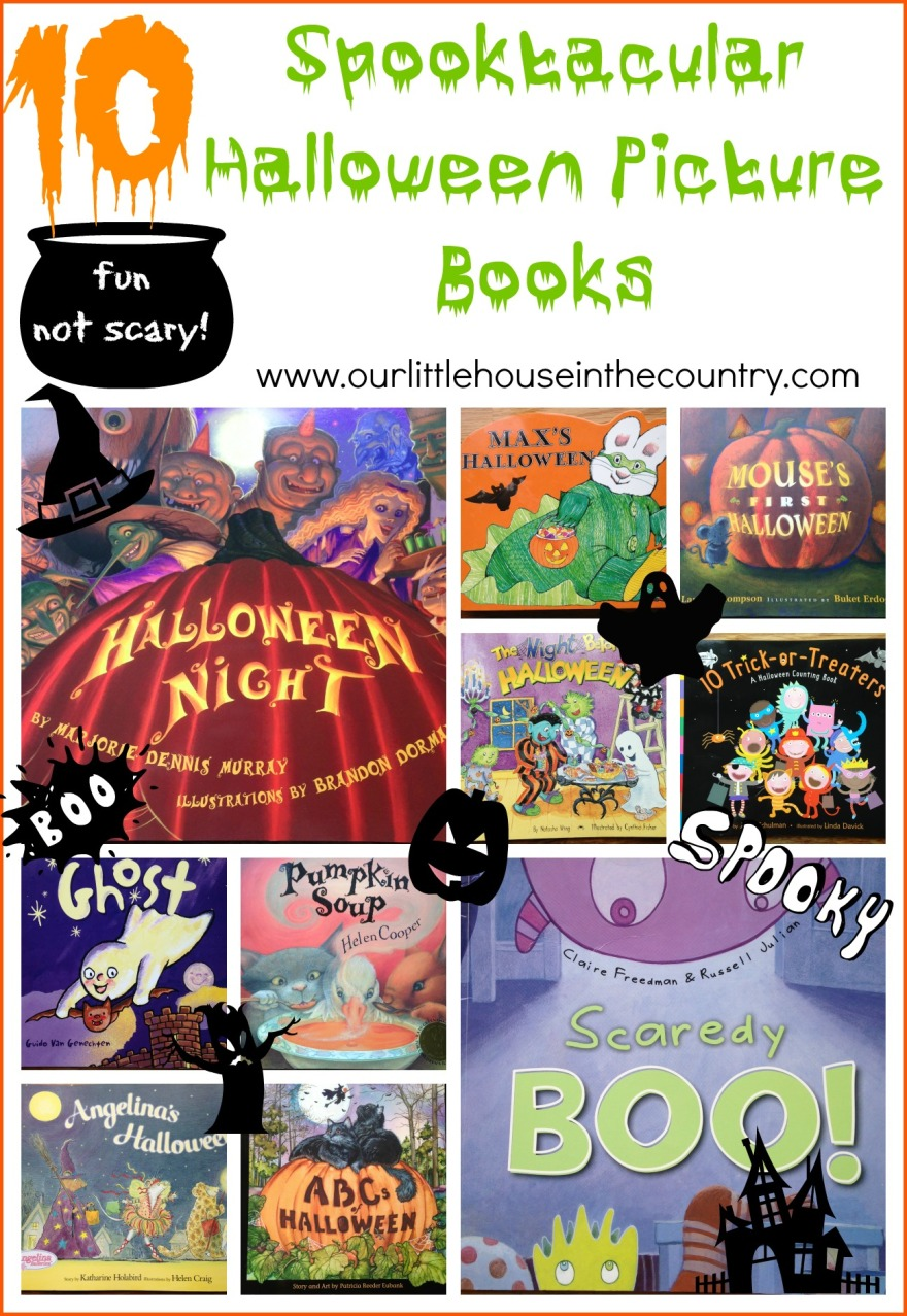 10 Spooktacular Halloween Picture Books - Our Little House in the Country