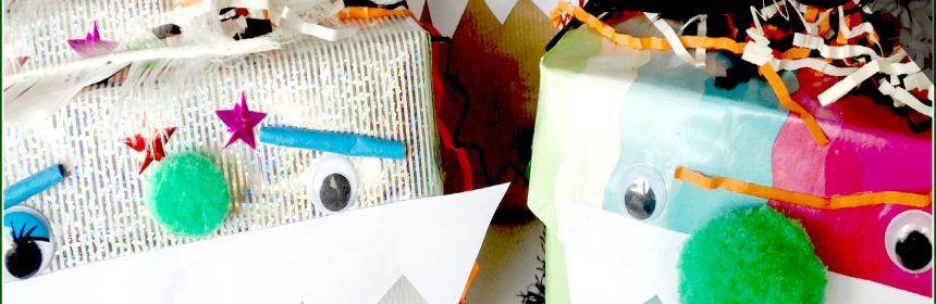 Monster Madness - Cardboard Box Monsters - Halloween Craft for Kids - Our Little House in the Country