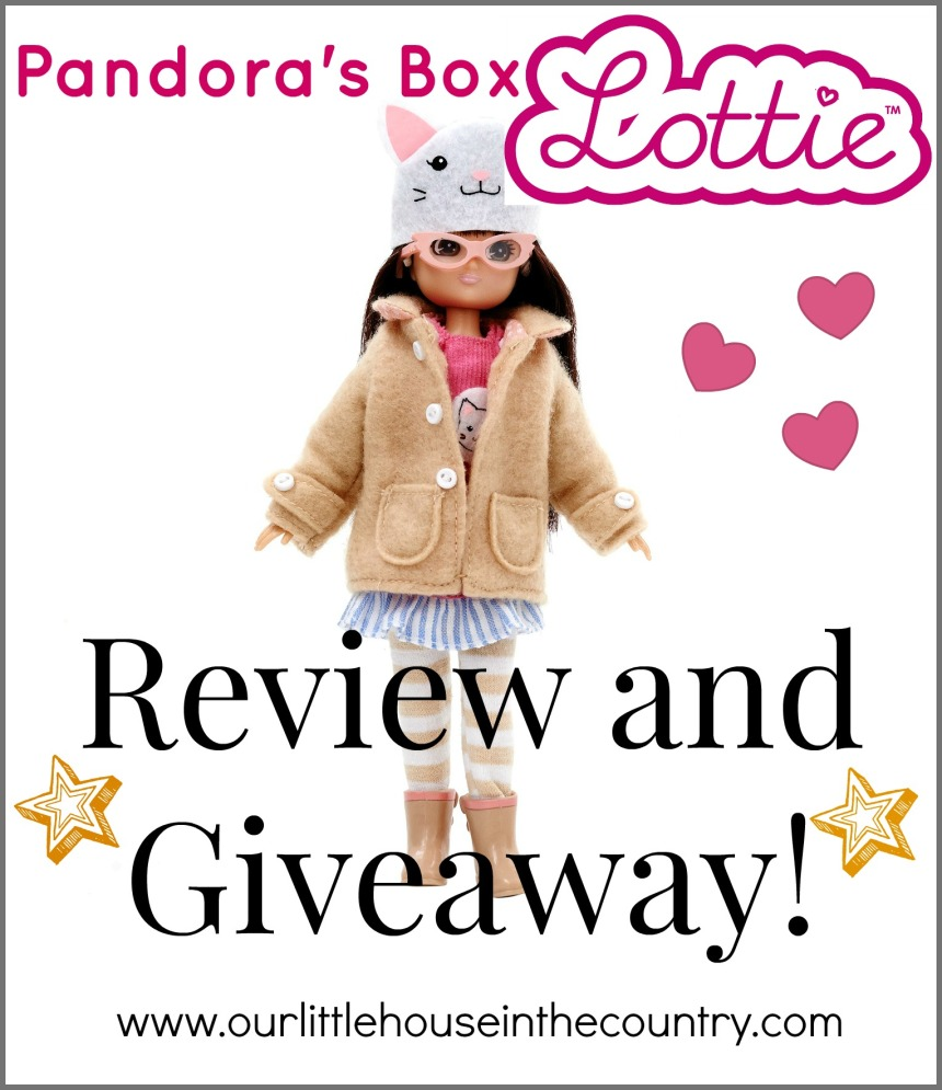 Pandoras Box Lottie Doll - Review and Amazing Giveaway! Our Little House in the Country