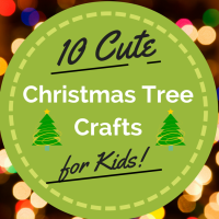 10 Christmas Tree Crafts for Kids to Make!