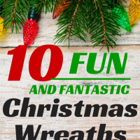 10 Christmas Wreaths for Kids to Make!