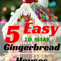 5 Easy to Make Gingerbread Houses