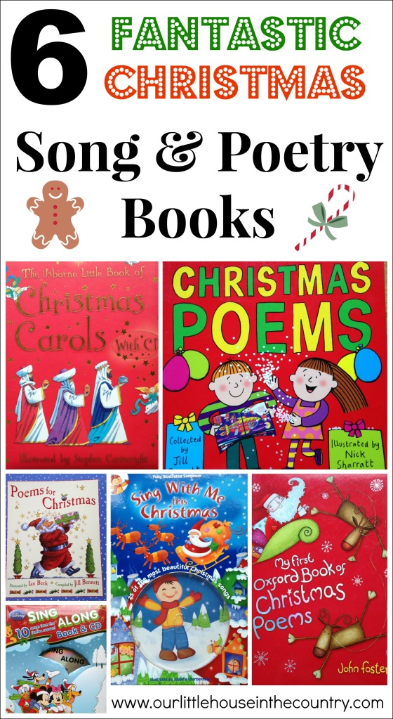 6 Fantastic Christmas Song and Poetry Books for Kids - Our Little House in the Country
