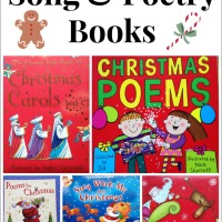 6 Fantastic Christmas Poetry and Song Books for Children