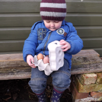 Keeping Toddlers Busy in the Garden - A Guest Post by Building Blocks and Acorns