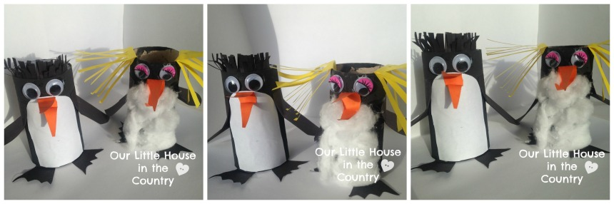 Toilet Roll Penguins - Our Little House in the Country