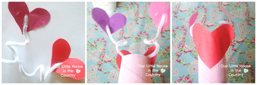 Toilet Roll Valentine's Day Love Bug Craft for Kids - Our Little House in the Country