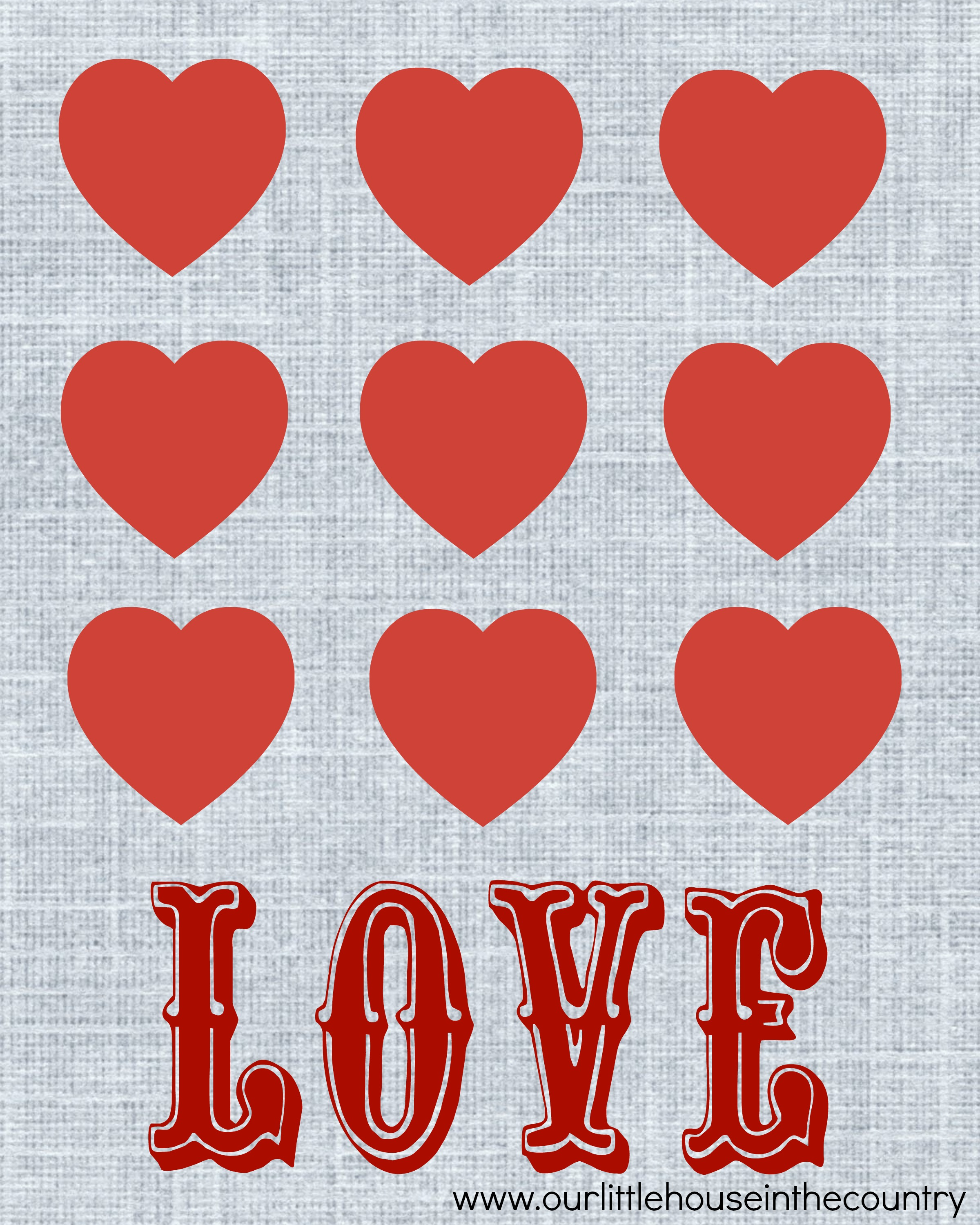 free valentine u0027s day printables our little house in the country