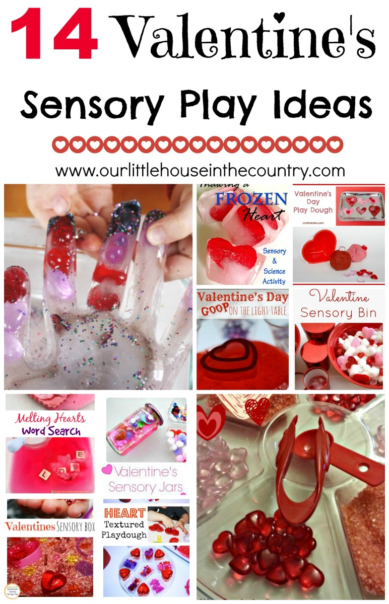 14 Valentine's Day Sensory Play Ideas