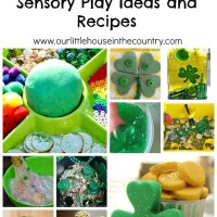 25 St. Patrick's Day Sensory Play Ideas and Recipes