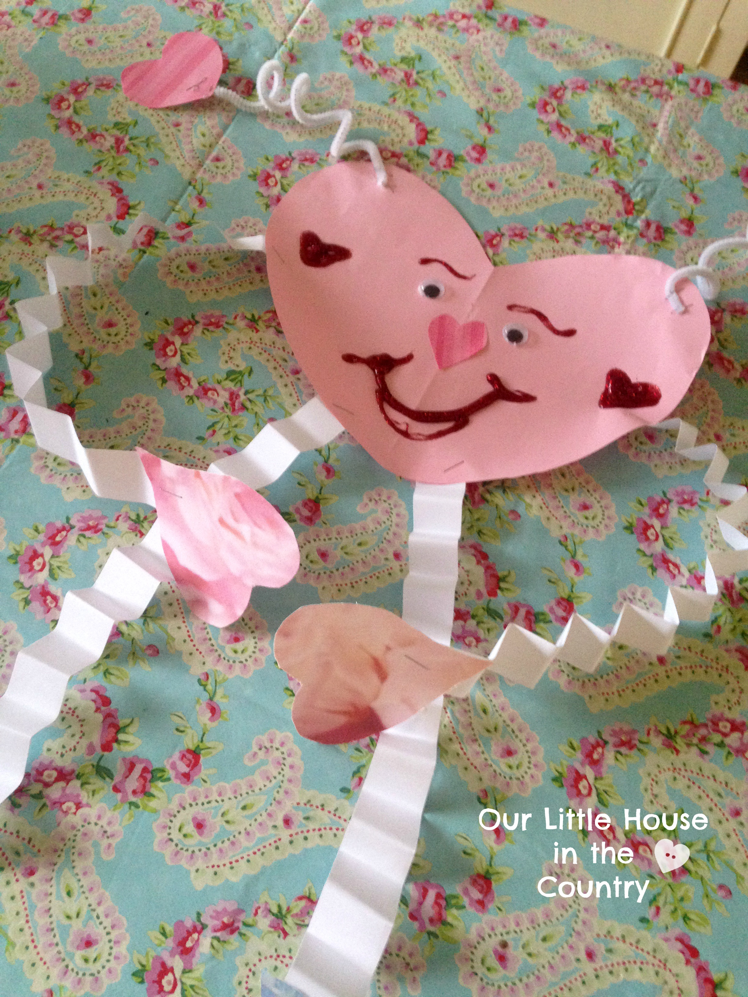 Valentine Day Craft Ideas For Kids Part - 45: Heart Buddies: 8 Valentineu0027s Day Crafts For Younger Kids - Includes Step By  Step Instructions - Our Little