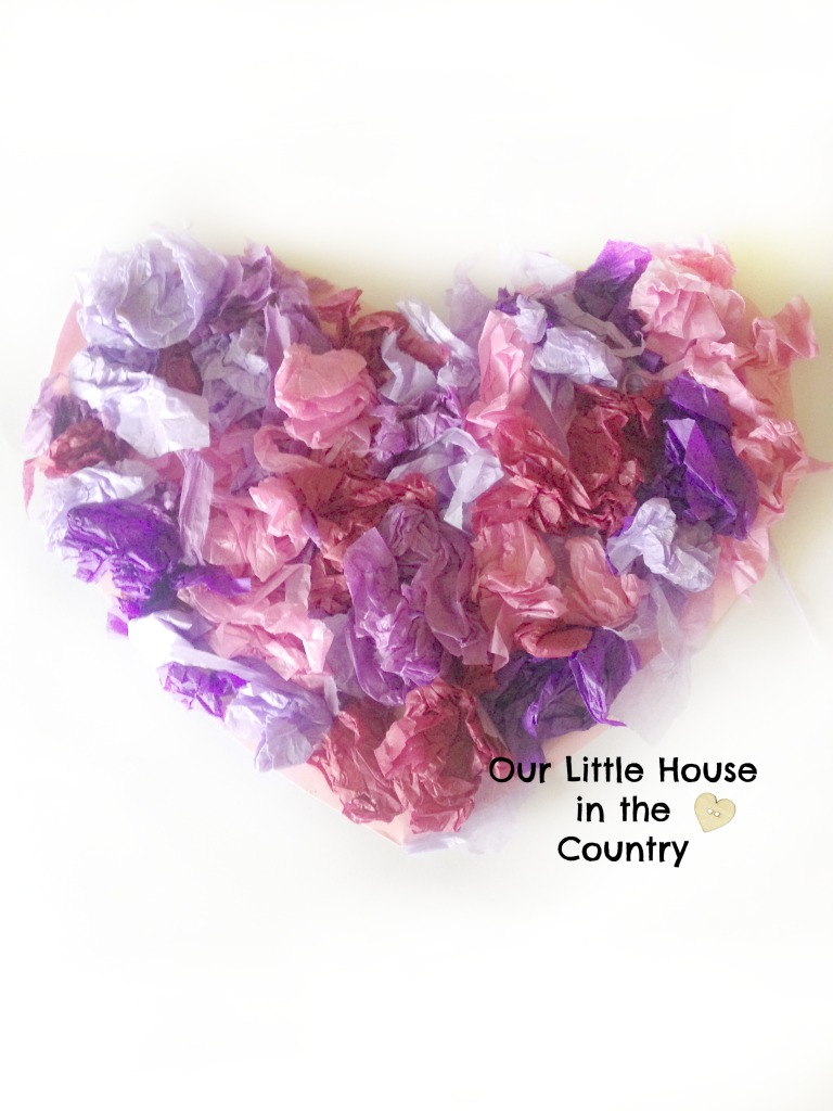 8 Valentine's Day Crafts for Younger Kids - includes step by step instructions - Our Little House in the Country