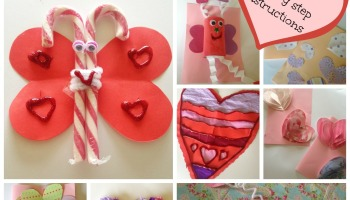 Lola the Toilet Roll Love Bug Butterfly Valentines Craft  Our