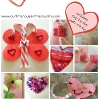 Valentine's Day Crafts for Younger Children (Preschool and Early Primary/Kindergarten)