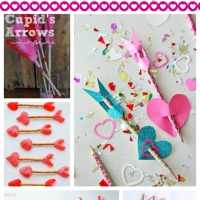 Valentine's Cupid Crafts for Kids