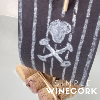Wine Cork Mini Rafts - Simple Pirate Ships
