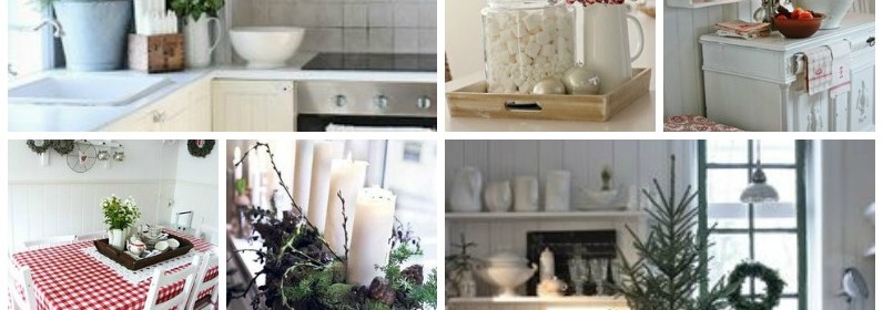 20 Christmas Decorating Ideas for the Kitchen - Our Little House in the Country